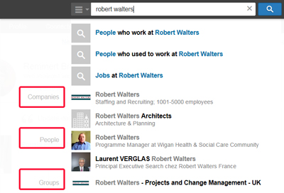 Semantic search in LinkedIn